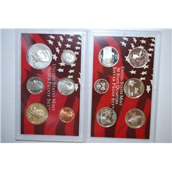 2004-S US Mint Silver Proof Set With US State Quarter Silver Proof Set; EST. $40-60