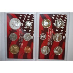 2005-S US Mint Silver Proof Set With US State Quarter Silver Proof Set; EST. $40-60