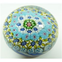 CLICHY CLOSE PACK MILLEFIORI ART GLASS PAPERWEIGHT