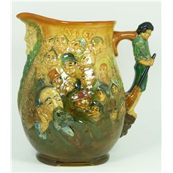 ROYAL DOULTON PORCELAIN DICKENS DREAM JUG 1933