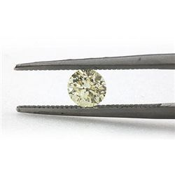 Natural 0.51 ctw Fancy Yellow Diamond Loose 1 SI1