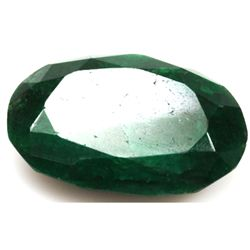 African Emerald Loose Gems 47.74ctw Oval Cut