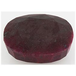 Ruby 280ct Loose Gemstone 40x35mm Oval Cut