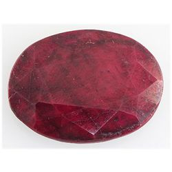 Ruby110.57ctw Loose Gemstone40x30mmOvalCut