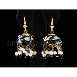 5.56GRAM INDIAN HANDMADE LAKH FASHION EARRING