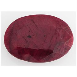 Ruby119.10ctw Loose Gemstone37x26mmOvalCut