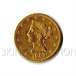 $10 Liberty Jewelry Grade Early Gold Bullion