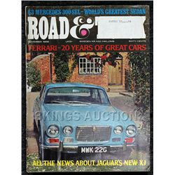 Road & Track (March 1968) Great Condition