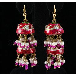 10.00GRAM INDIAN HANDMADE LAKH FASHION EARRING