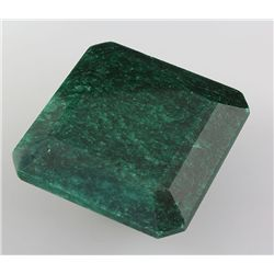 Emerald 280.29 ctw Loose Gem 37.77x38.67mm Square Cut
