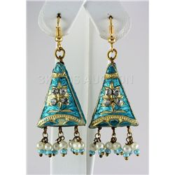 5.32GRAM INDIAN HANDMADE LAKH FASHION EARRING