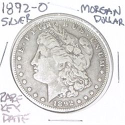 1892-O MORGAN SILVER DOLLAR *RARE KEY DATE - PLEASE LOOK AT PICTURE TO DETERMINE GRADE*!!