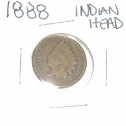 1888 INDIAN HEAD PENNY *NICE PENNY-PLEASE LOOK AT PICTURE TO DETERMINE GRADE*!!