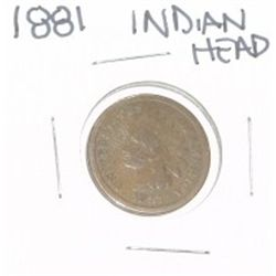 1881 INDIAN HEAD PENNY *NICE PENNY-PLEASE LOOK AT PICTURE TO DETERMINE GRADE*!!