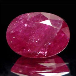 0.6ct. Georgeous Natural Burmese Oval Ruby 4x6mm (GMR-0192)