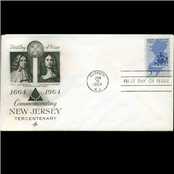 1964 US First Day Postal Cover (STM-2468)