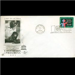 1964 UN First Day Postal Cover (STM-2541)