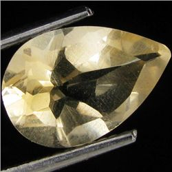 2+ct Lemon Citrine Pear (GMR-1098)