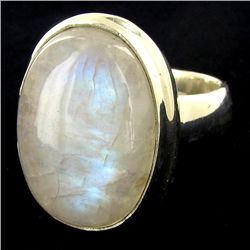 67twc Moonstone Sterling Ring (JEW-2781)