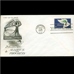 1963 US First Day Postal Cover (STM-2453)