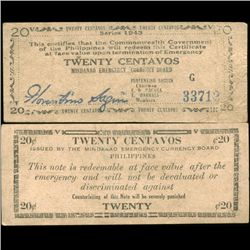 1949 Philippines 10c Note Better Grade (CUR-07171)