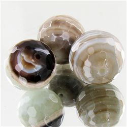 165ct Rainbow Agate Beads Parcel (GEM-49533)