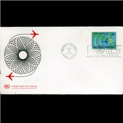 1968 UN First Day Postal Cover (STM-2726)