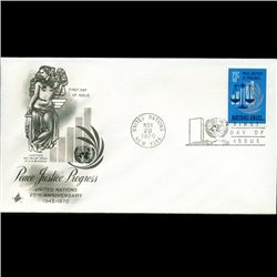1970 UN First Day Postal Cover (STM-2832)