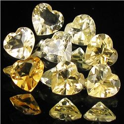 5ct Lemon Citrine Heart Parcel (GEM-40201)