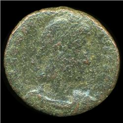 300AD Roman Bronze Coin Higher Grade (COI-9343)