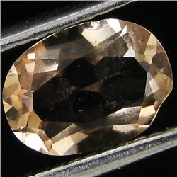 1.2ct Natural Imperial Topaz Oval (GEM-33576F)