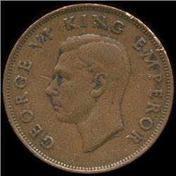 1942 New Zealand 1p VF/XF (COI-10205)