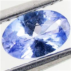 0.42ct Top Color Tanzanite Oval (GEM-48732)