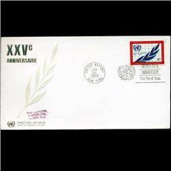 1970 UN First Day Postal Cover (STM-2843)