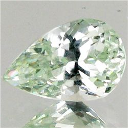 4.8ct Strong Green Kunzite Pear (GEM-43387)