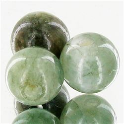 29.87ct Green Jade Beads Parcel (GEM-49753)