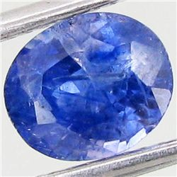 1.5ct Natural Soft Blue Sapphire  (GEM-25296A)