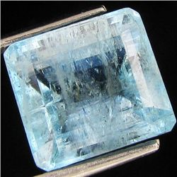 6.55ct Strong Blue Aquamarine (GEM-49075)