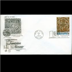 1969 UN First Day Postal Cover (STM-2774)