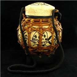 Hand Decorated Rice Container  (CLB-1104)