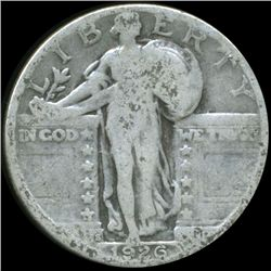 1926S Standing Liberty Quarter Better Circulated (COI-10640)