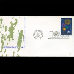 1967 UN First Day Postal Cover (STM-2687)