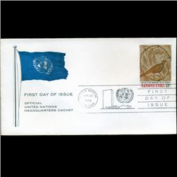 1969 UN First Day Postal Cover (STM-2775)