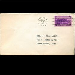 1937 US First Day Postal Cover (STM-2083)
