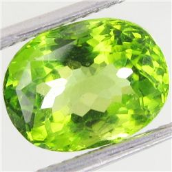 3.45ct Clean Green Peridot Oval (GEM-43439)