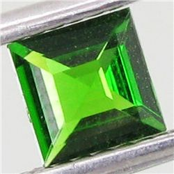 0.53ct Square Green Chrome Diopside (GEM-4537A)