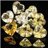 5.1ct Lemon Citrine Heart Parcel (GEM-40186)