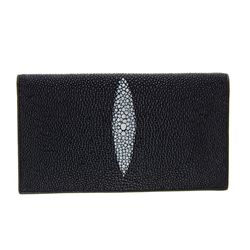 Unisex Stingray Hide Checkbook Wallet (ACT-060)
