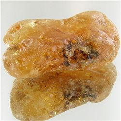 140ct Large Amber Chunk With Inclusions (MIN-001489)
