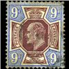 1902 Britain Edward 9p Stamp (STM-0797)